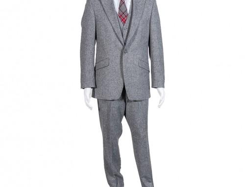 Donegal Grey Tweed