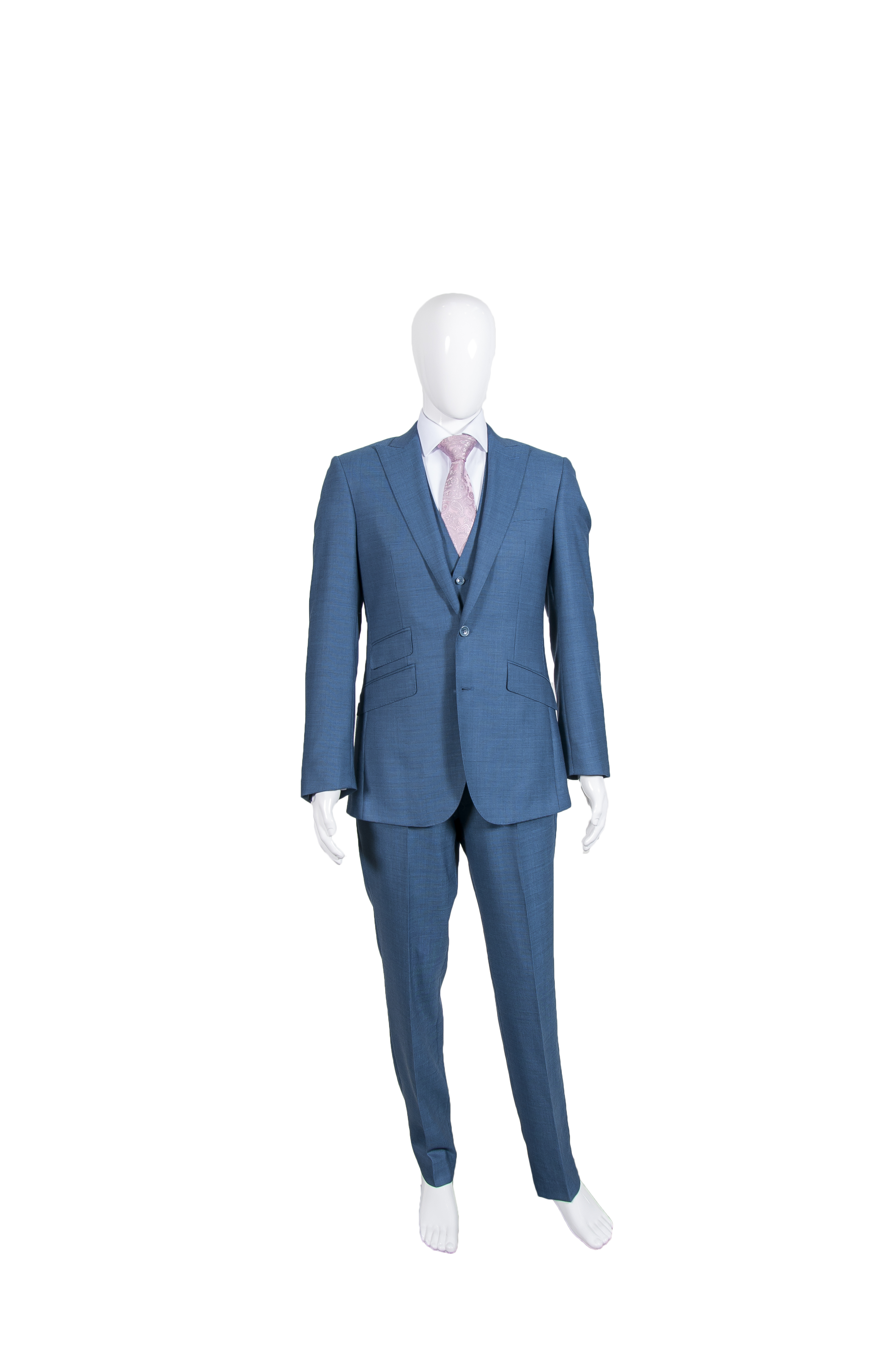 M2M Petrol Blue 3 Piece Suit – Groom Formal Hire