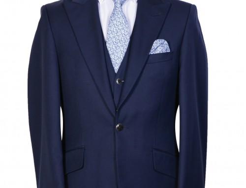 Navy Slimline Suit