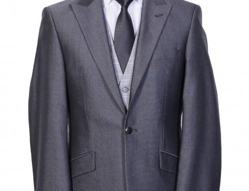 Mid Grey Slimline Suit