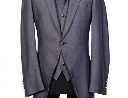 Mid Grey Slimline Tailcoat