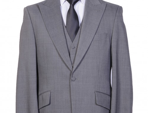 Light Grey Slimline Suit
