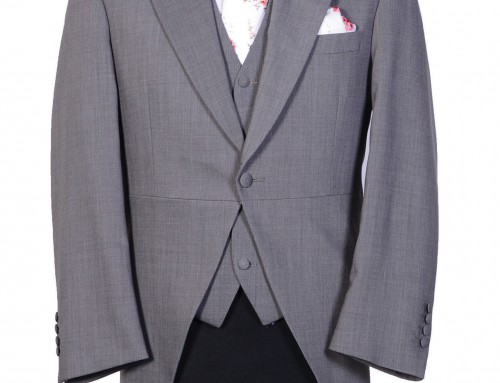 Light Grey Slimline Tailcoat