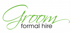 Groom Formal Hire Retina Logo