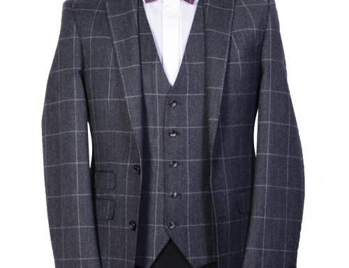 Grey Check Herbie Frogg Suit